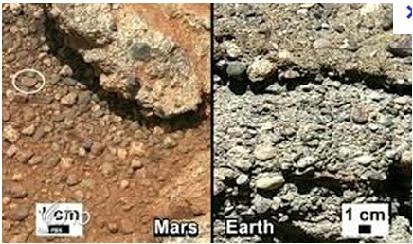 """อันดับที่ 10 นาซาค้นพบ """"กรวด""""ร่องรอยการกัดเซาะของธารน้ำบนดาวอังคาร"""