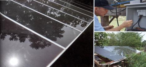ไฟฟ้าจากพลังงานแสงอาทิตย์ใช้สูบน้ำเพื่อการเกษตร