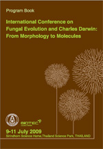 International Conference on Fungal Evolution and Charles Darwin: From Morphology to Molecules - Program Book