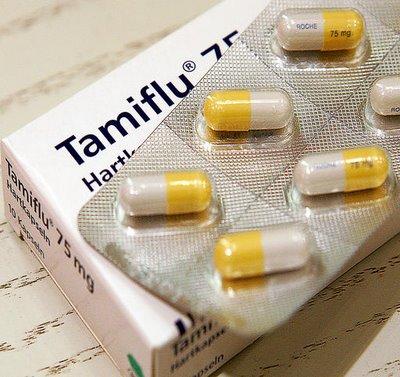 โอเซลทามิเวียร์(oseltamivir) หรือในชื่อการค้าคือ ทามิฟลู(tamiflu) เป็นยาชนิดเม็ด