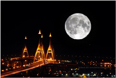 อันดับที่ 9 ซูปเปอร์มูน ดวงจันทร์เต็มดวงใกล้โลกที่สุดในรอบ 6 ปี