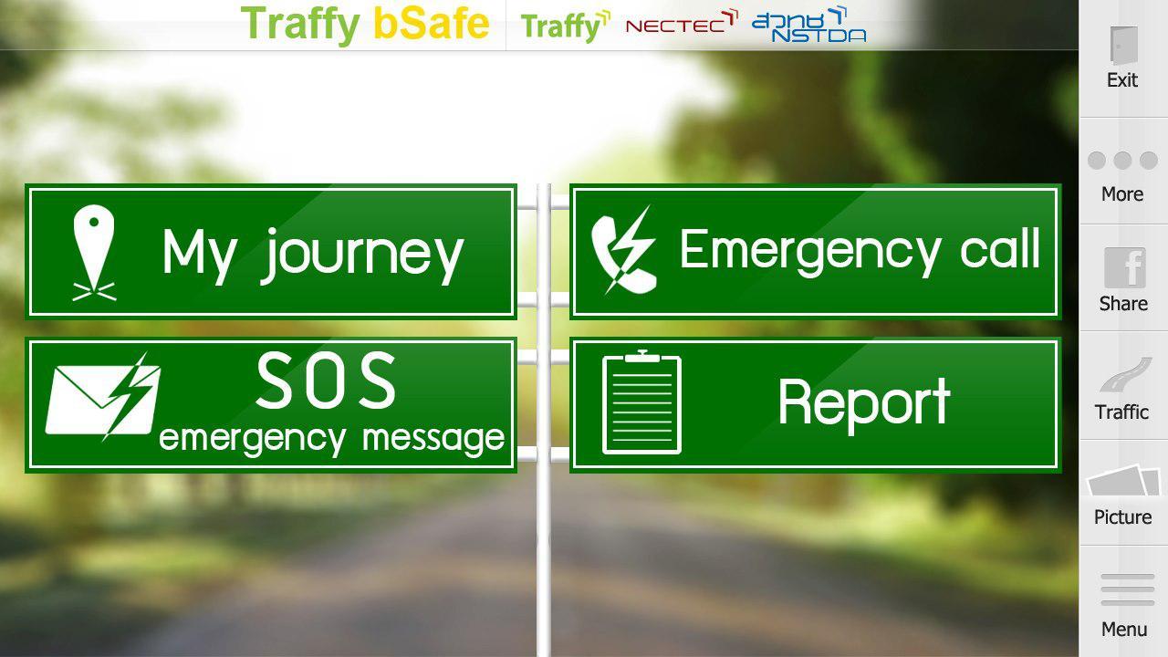 ภาพ Traffy bSafe (ที่มา: https://play.google.com/store/apps/details?id=com.project.traffybsafe&feature=search_result)